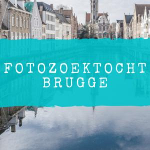 Fotozoektocht Brugge